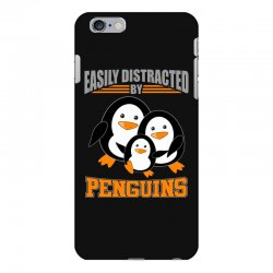 easily distracted by penguins t shirt iPhone 6 Plus/6s Plus Case | Artistshot