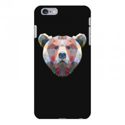 geometric bear funny animal t shirts iPhone 6 Plus/6s Plus Case | Artistshot