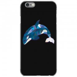 geometric orca whale funny animal t shirts iPhone 6/6s Case | Artistshot