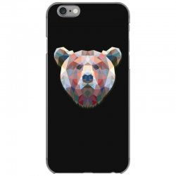 geometric bear funny animal t shirts iPhone 6/6s Case | Artistshot