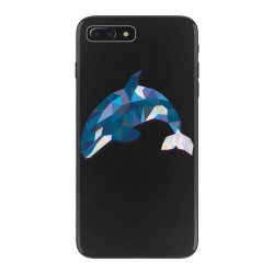 geometric orca whale funny animal t shirts iPhone 7 Plus Case | Artistshot