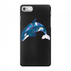 geometric orca whale funny animal t shirts iPhone 7 Case | Artistshot