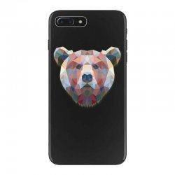 geometric bear funny animal t shirts iPhone 7 Plus Case | Artistshot