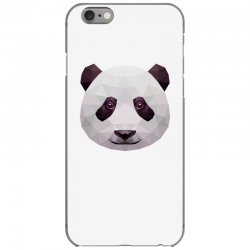 geometric panda bear funny animal t shirts iPhone 6/6s Case | Artistshot