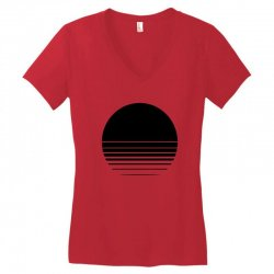 the geometry of sunrise Women's V-Neck T-Shirt | Artistshot