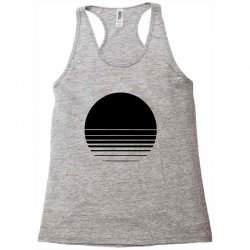 the geometry of sunrise Racerback Tank | Artistshot