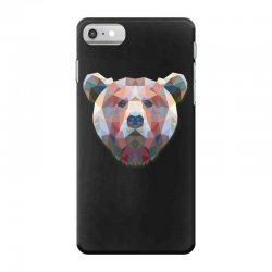 geometric bear funny animal t shirts iPhone 7 Case | Artistshot