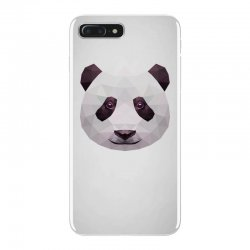 geometric panda bear funny animal t shirts iPhone 7 Plus Case | Artistshot