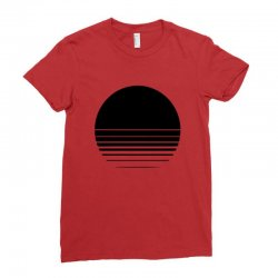the geometry of sunrise Ladies Fitted T-Shirt | Artistshot