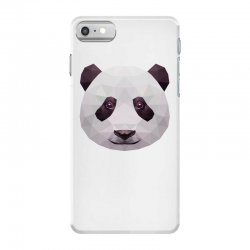 geometric panda bear funny animal t shirts iPhone 7 Case | Artistshot