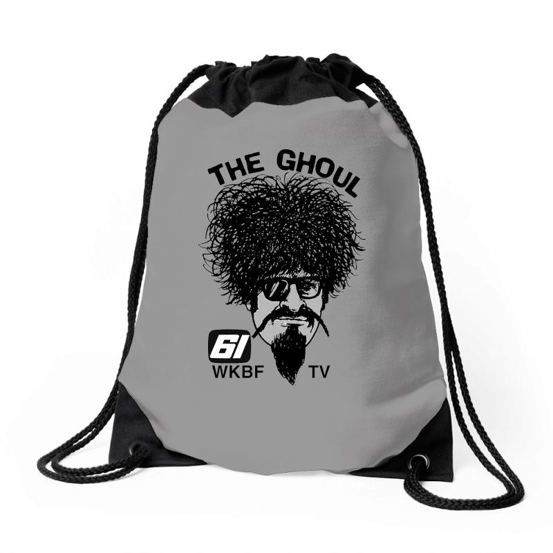 The Ghoul Channel 61 Drawstring Bags | Artistshot