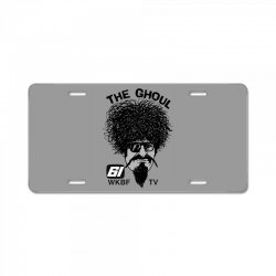 the ghoul channel 61 License Plate | Artistshot