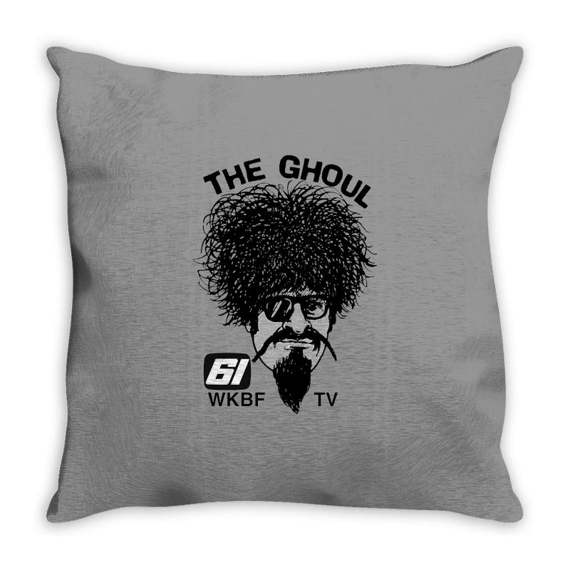 The Ghoul Channel 61 Throw Pillow | Artistshot