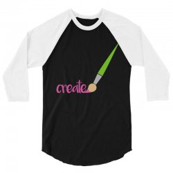 create 3/4 Sleeve Shirt | Artistshot