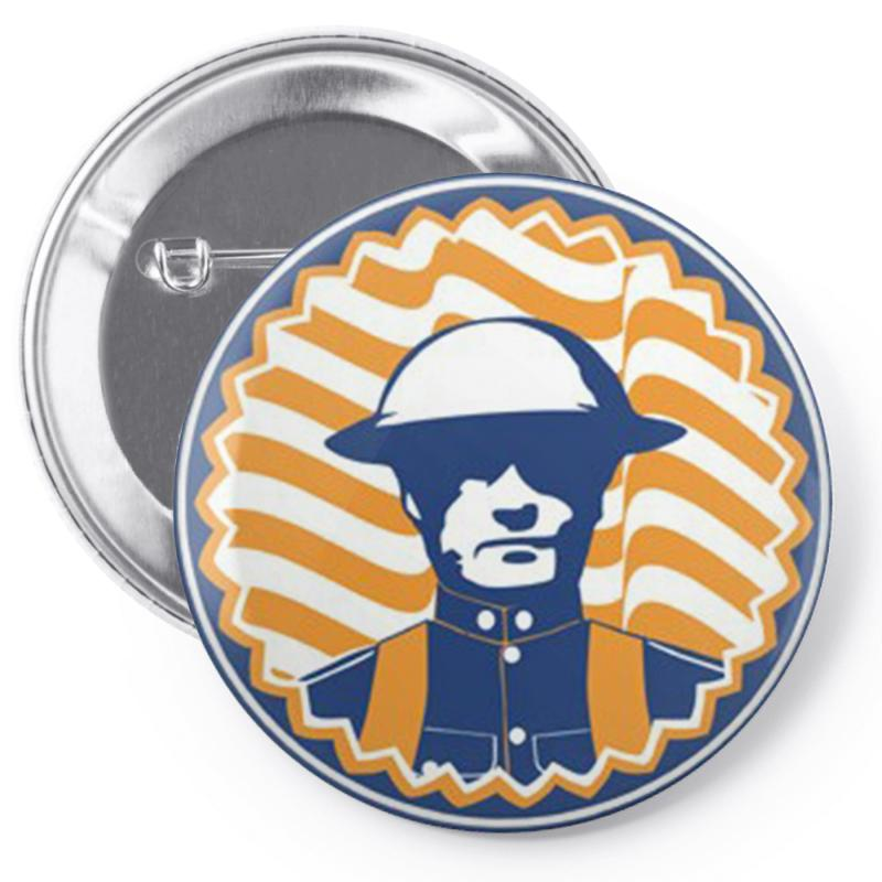 U Of I Illinois Chief Pin-back Button | Artistshot