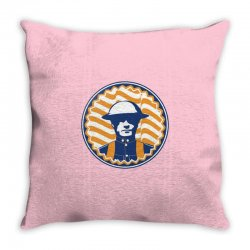 u of i illinois chief Throw Pillow | Artistshot
