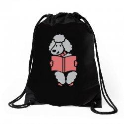 Reader Sheep Drawstring Bags | Artistshot