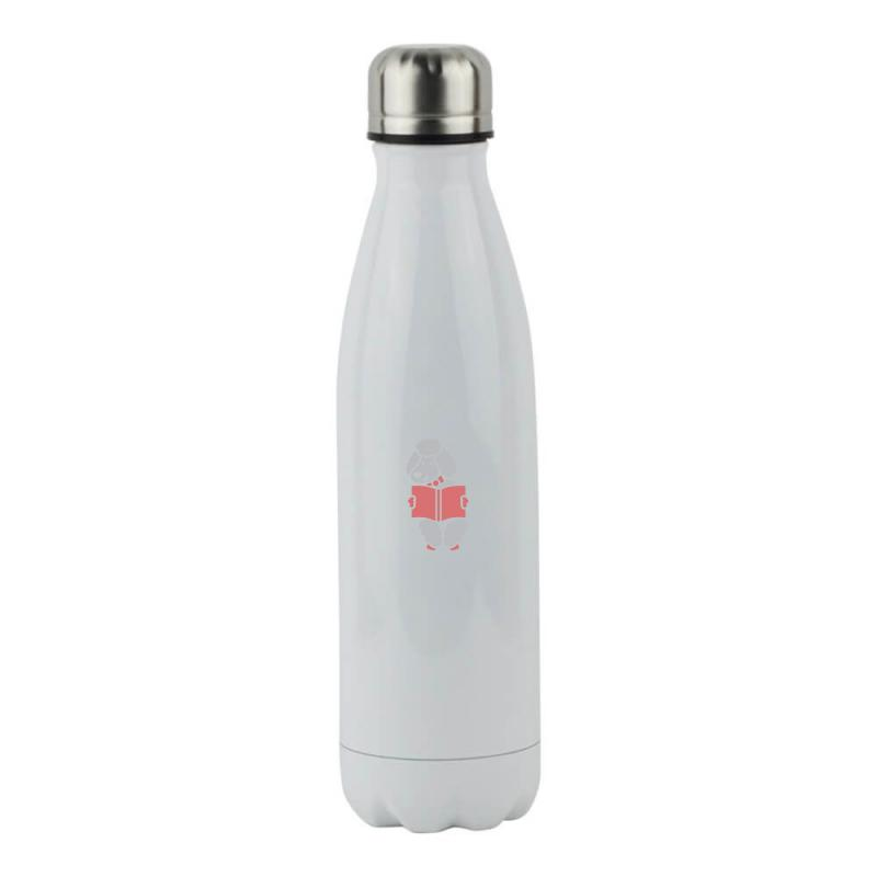 Reader Sheep Stainless Steel Water Bottle | Artistshot