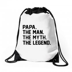 the man the myth the legend Drawstring Bags | Artistshot