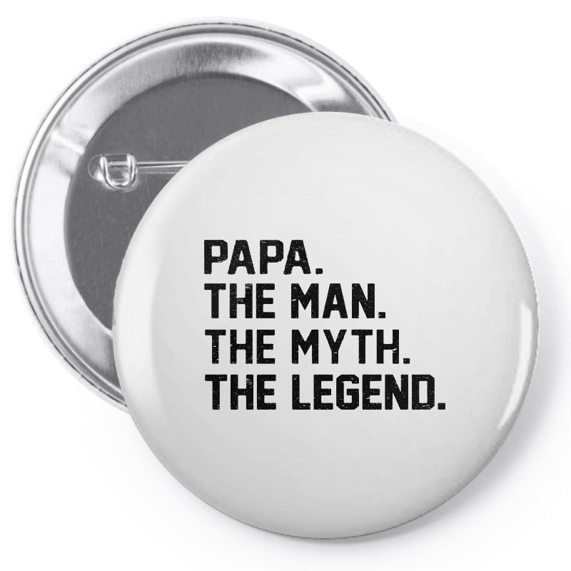 The Man The Myth The Legend Pin-back Button | Artistshot
