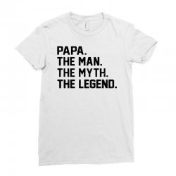 the man the myth the legend Ladies Fitted T-Shirt   Artistshot