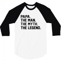 the man the myth the legend 3/4 Sleeve Shirt | Artistshot