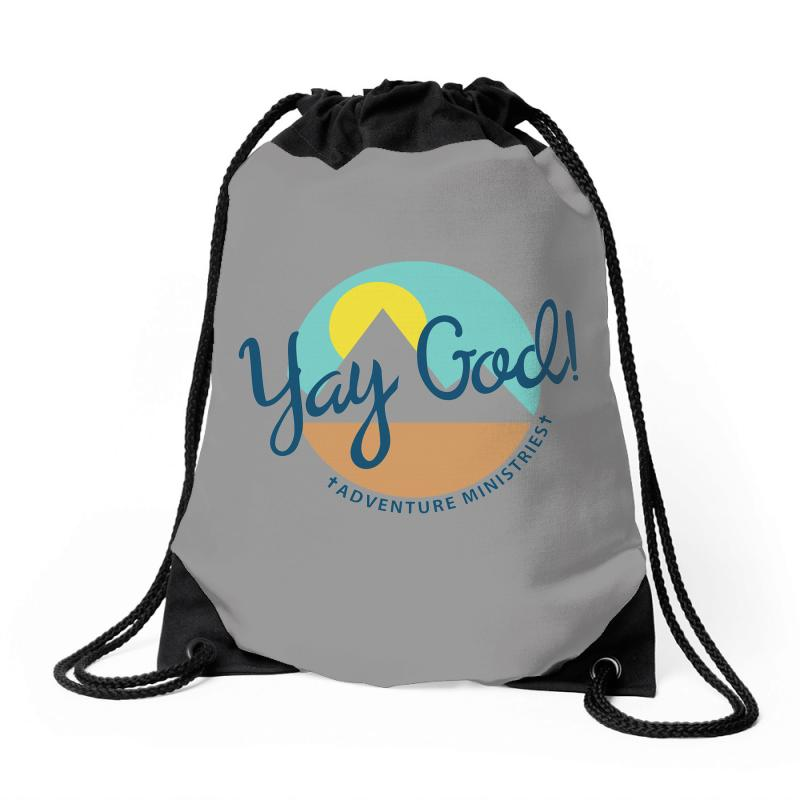 Yay God! Drawstring Bags | Artistshot