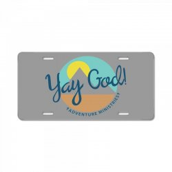 yay god! License Plate | Artistshot