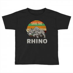 save the rhino rhinoceros    chubby unicorns Toddler T-shirt | Artistshot