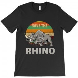 save the rhino rhinoceros    chubby unicorns T-Shirt | Artistshot