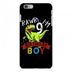 9 years old 9th birthday dinosaur boy daughter iPhone 6 Plus/6s Plus Case | Artistshot