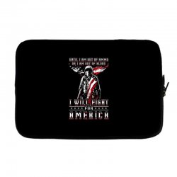 i will fight for america Laptop sleeve | Artistshot