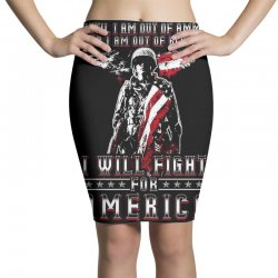 i will fight for america Pencil Skirts   Artistshot