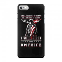 i will fight for america iPhone 7 Case | Artistshot