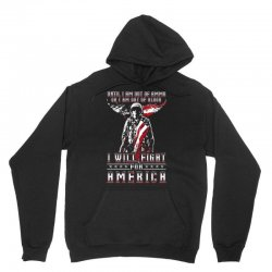 i will fight for america Unisex Hoodie | Artistshot