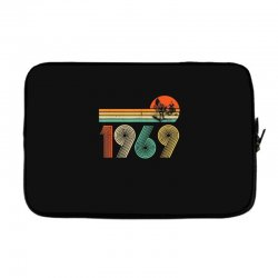 apollo 11 50th anniversary moon landing 1969   2019 vintage Laptop sleeve | Artistshot