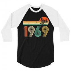 apollo 11 50th anniversary moon landing 1969   2019 vintage 3/4 Sleeve Shirt | Artistshot