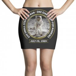 apollo 11 50th anniversary moon landing Mini Skirts | Artistshot