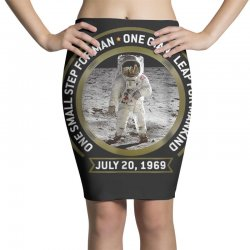 apollo 11 50th anniversary moon landing Pencil Skirts | Artistshot