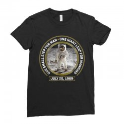 apollo 11 50th anniversary moon landing Ladies Fitted T-Shirt | Artistshot