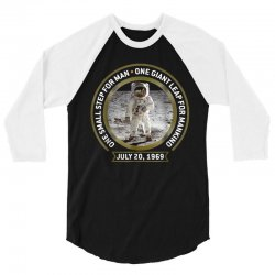 apollo 11 50th anniversary moon landing 3/4 Sleeve Shirt | Artistshot