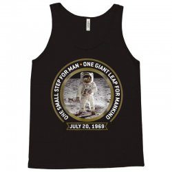 apollo 11 50th anniversary moon landing Tank Top | Artistshot