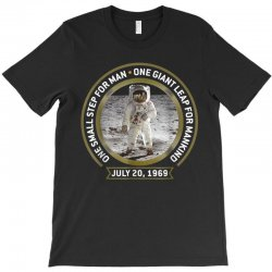 apollo 11 50th anniversary moon landing T-Shirt | Artistshot
