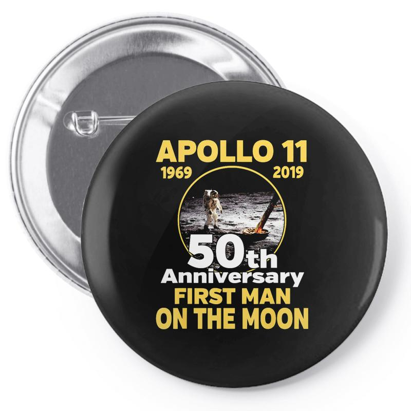 Apollo 11 50th Anniversary Pin-back Button | Artistshot