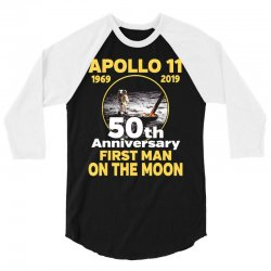 apollo 11 50th anniversary 3/4 Sleeve Shirt | Artistshot