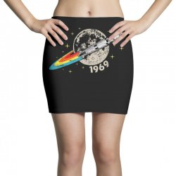 apollo 11 50th anniversary moon Mini Skirts | Artistshot