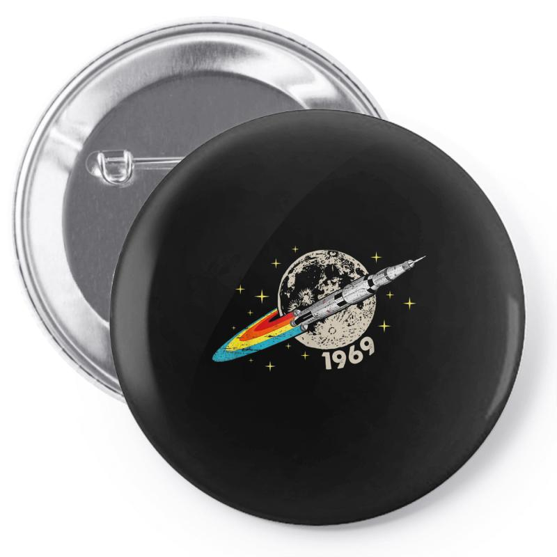 Apollo 11 50th Anniversary Moon Pin-back Button | Artistshot