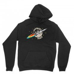 apollo 11 50th anniversary moon Unisex Hoodie | Artistshot