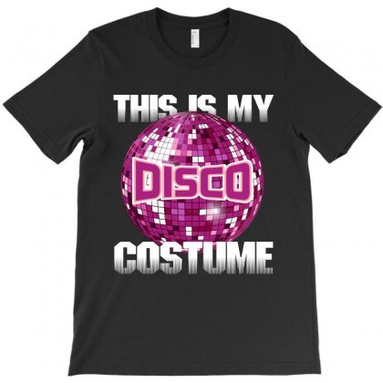Disco Costume T-shirt Designed By Rardesign