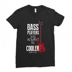 bass players will always Ladies Fitted T-Shirt   Artistshot